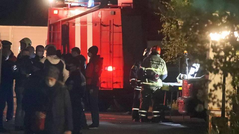 Полиция задержала директора сгоревшего хосписа в Красногорске