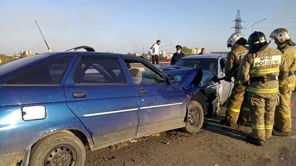 Двое водителей пострадали в ДТП в Каменске-Уральском