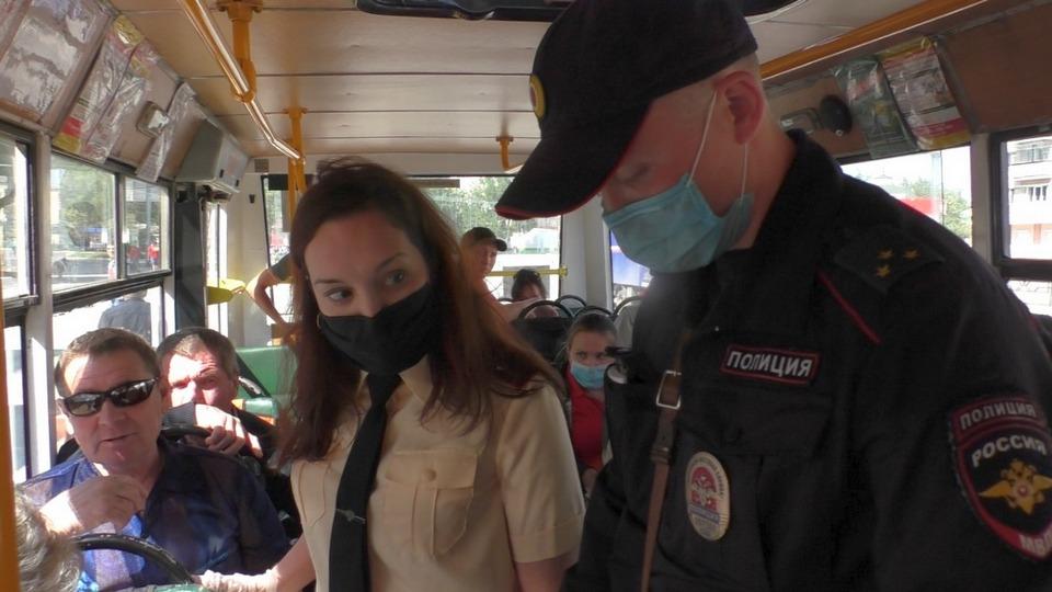 В Каменске-Уральском провели рейд по соблюдению масочного режима
