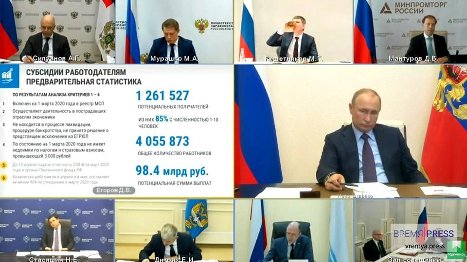 Правительство озвучило новые меры поддержки бизнеса и граждан в России