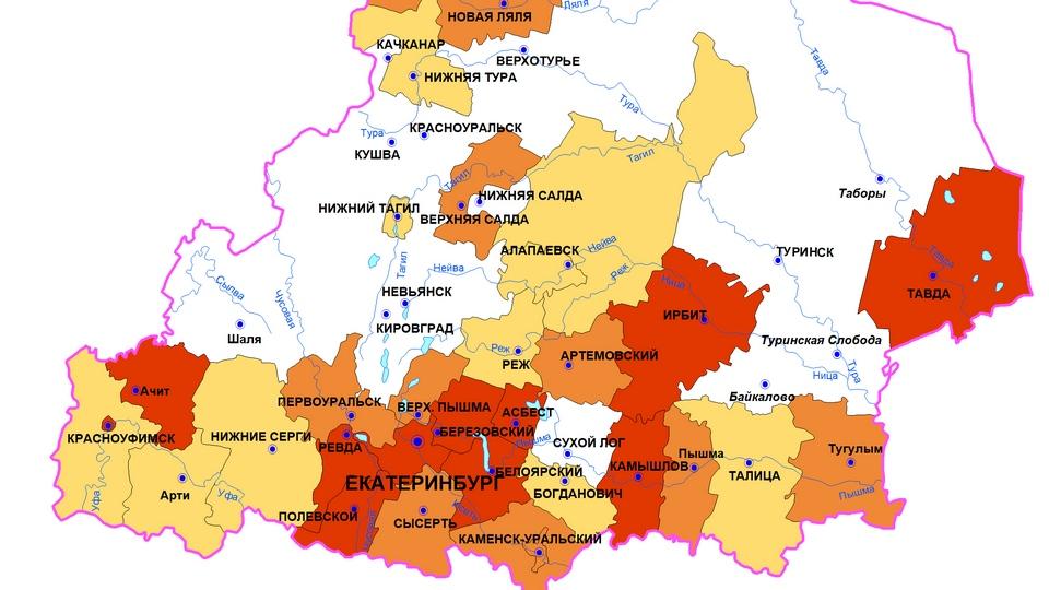 В Свердловской области 130 новых случаев COVID-19