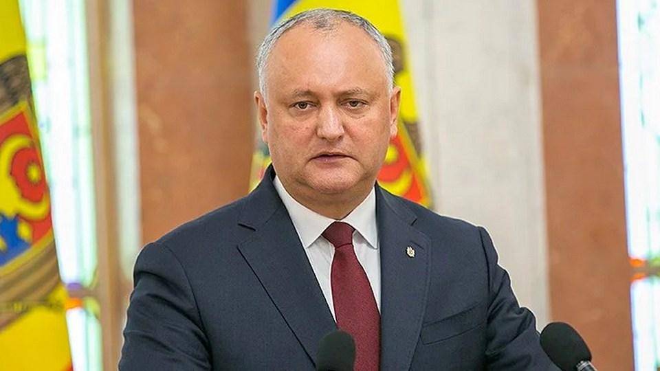 Президентские выборы в Молдавии могут пройти 1 ноября