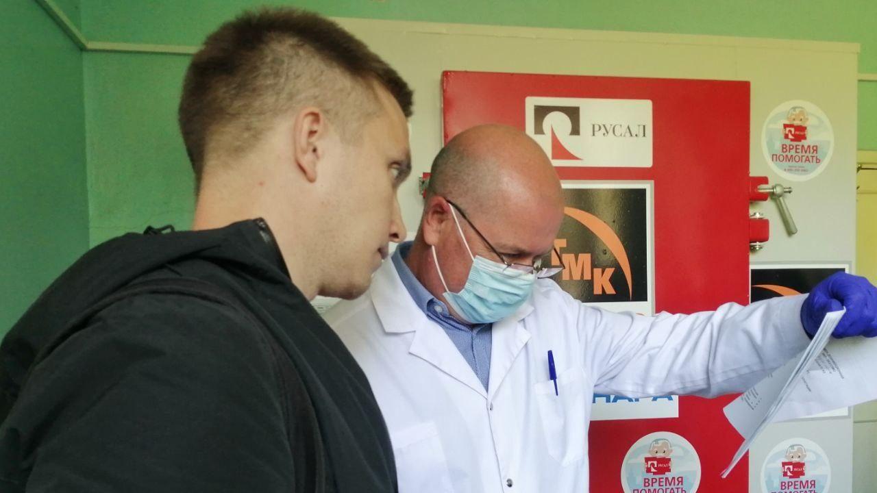 РУСАЛ и ТМК продолжают оказывать помощь медицине Каменска-Уральского
