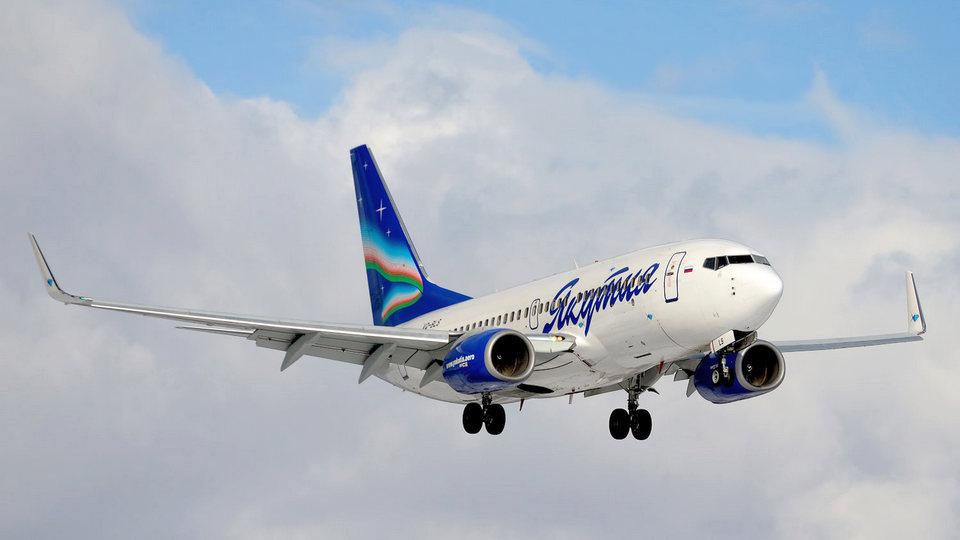 """Авиакомпания """"Якутия"""" начала выполнять рейсы между Москвой и Калининградом"""