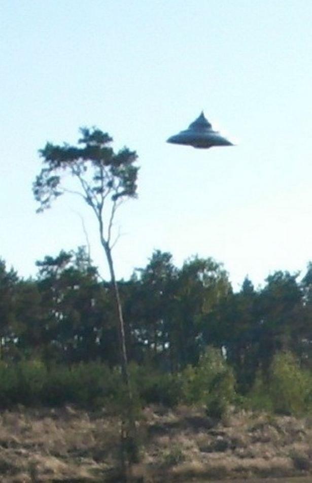 Житель Польши смог заснять НЛО