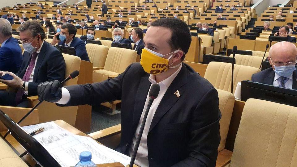 Депутат Госдумы Дмитрий Ионин будет лечить COVID-19 дома
