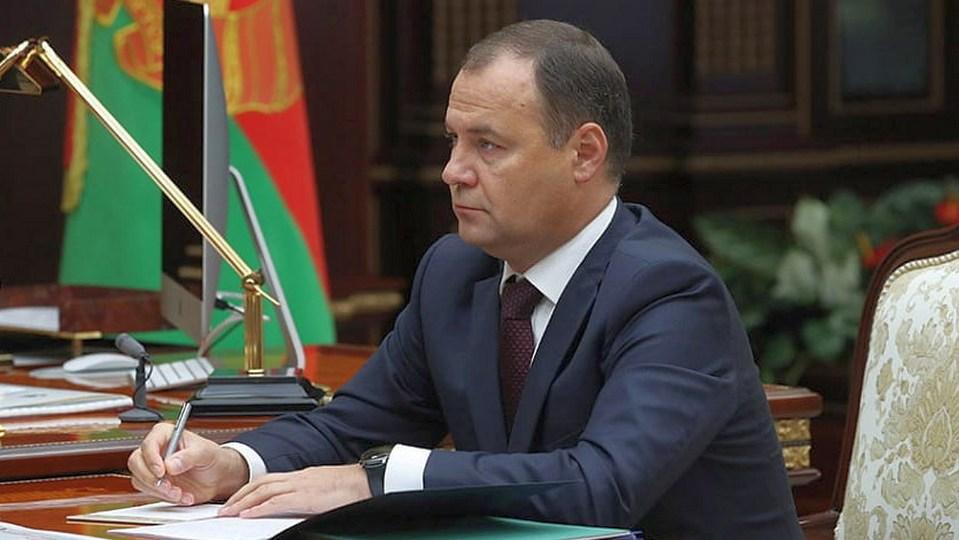 Роман Головченко возглавил правительство Белоруссии