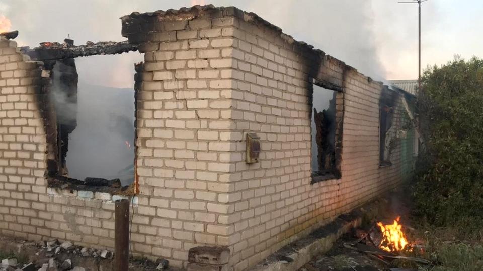 Пожар в Саратовской области: погибли две женщины