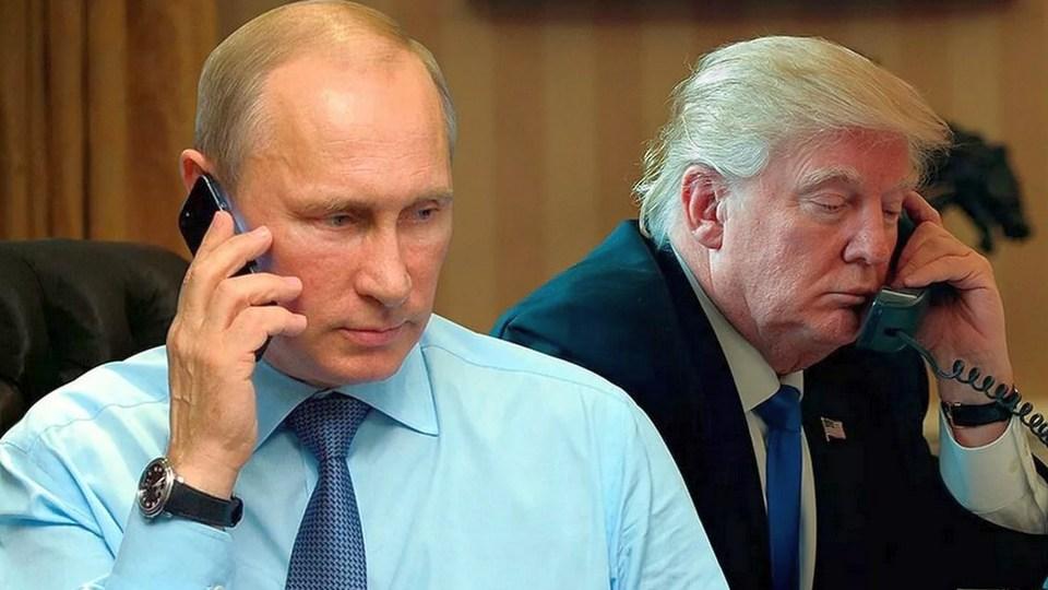 О чем беседовали Путин и Трамп во время телефонных переговоров