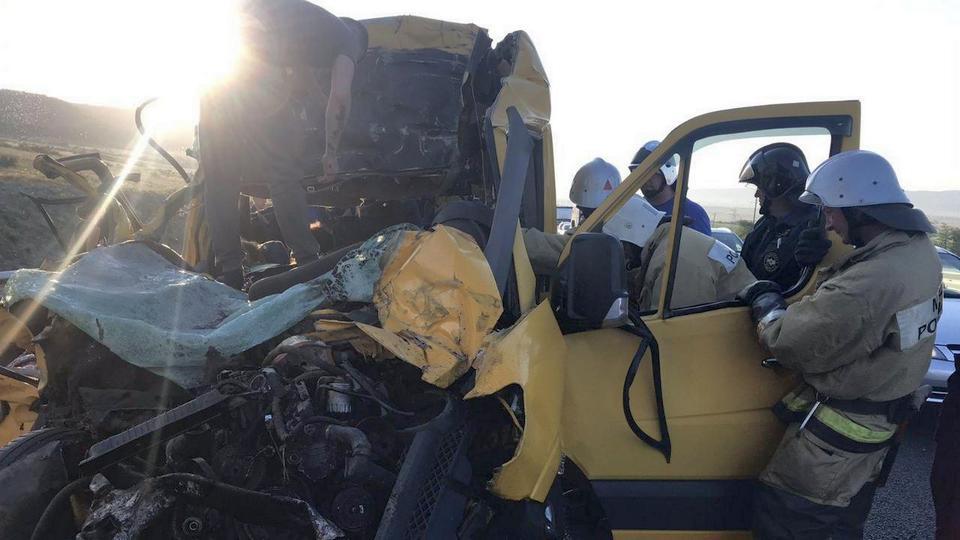 Семь человек погибли в ДТП в Крыму
