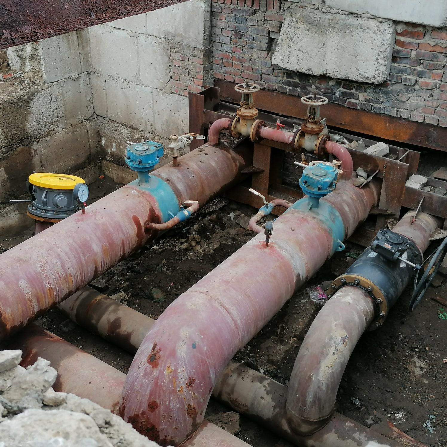 УК Теплокомплекс проводит реконструкцию тепловых сетей в Красногорском районе