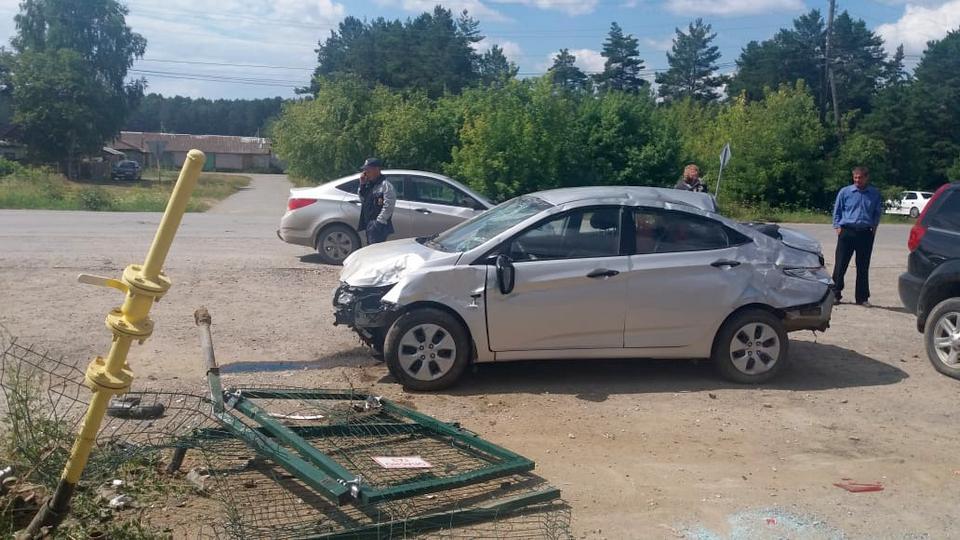 Один человек пострадал в ДТП в селе Сосновское