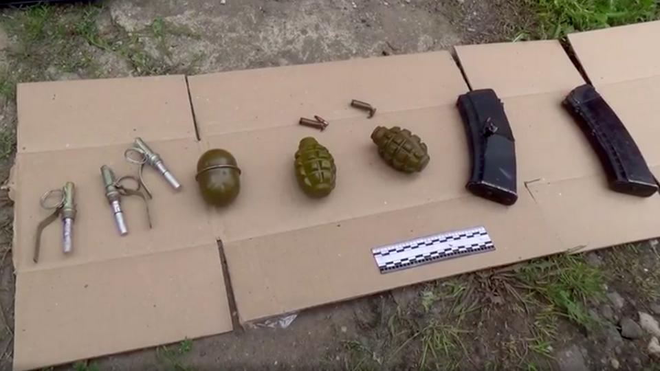 ФСБ опубликовала видео с ликвидированным террористом в Подмосковье