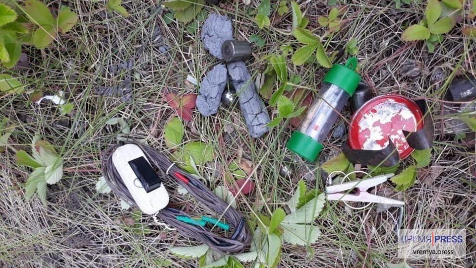 ФСБ Каменска-Уральского обнаружила самодельное взрывное устройство
