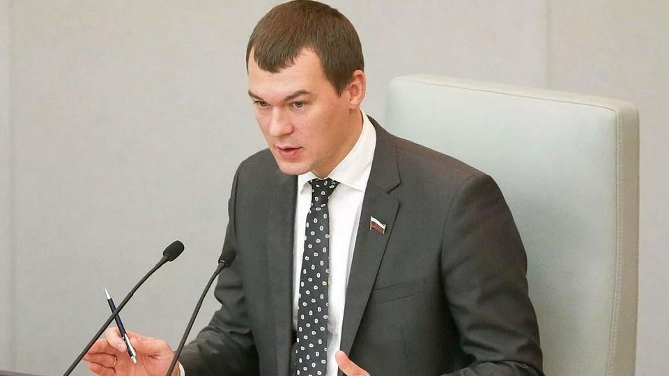Жители Хабаровского края поймали Дегтярева, не желающего с ними говорить