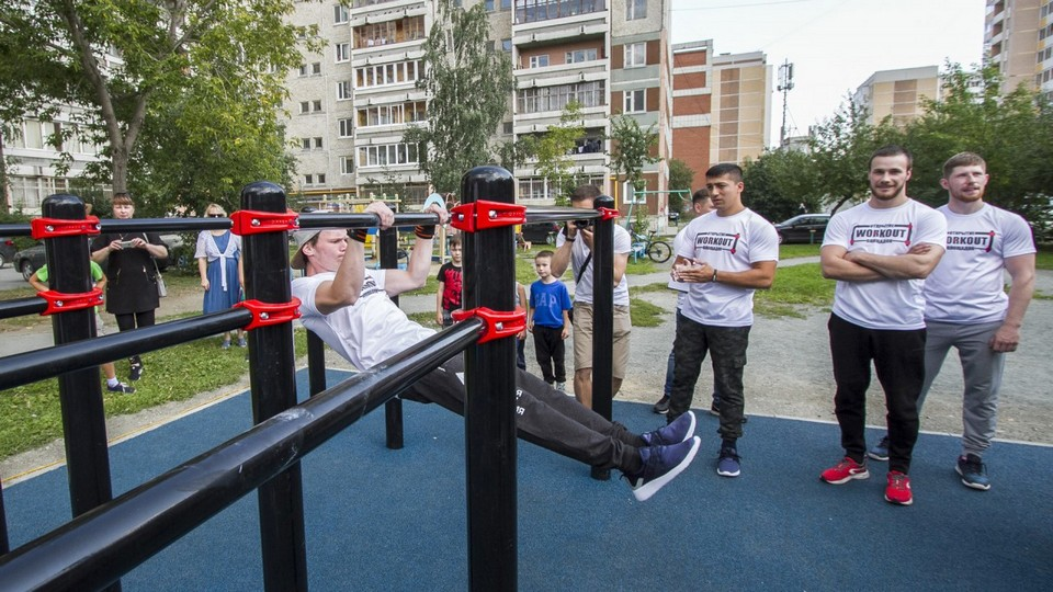 Екатеринбург вошел в топ-10 самых спортивных городов России