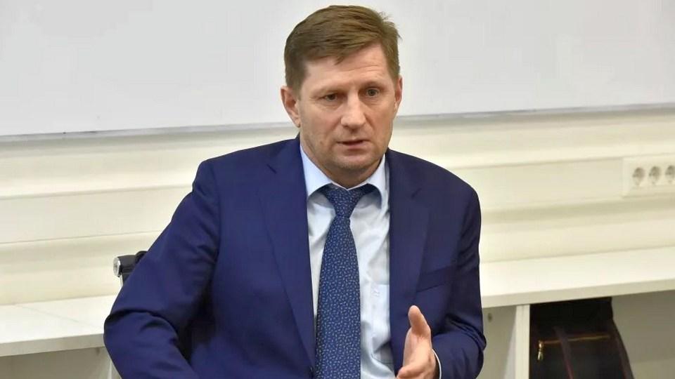 Губернатор Хабаровского края Сергей Фургал арестован до 9 сентября