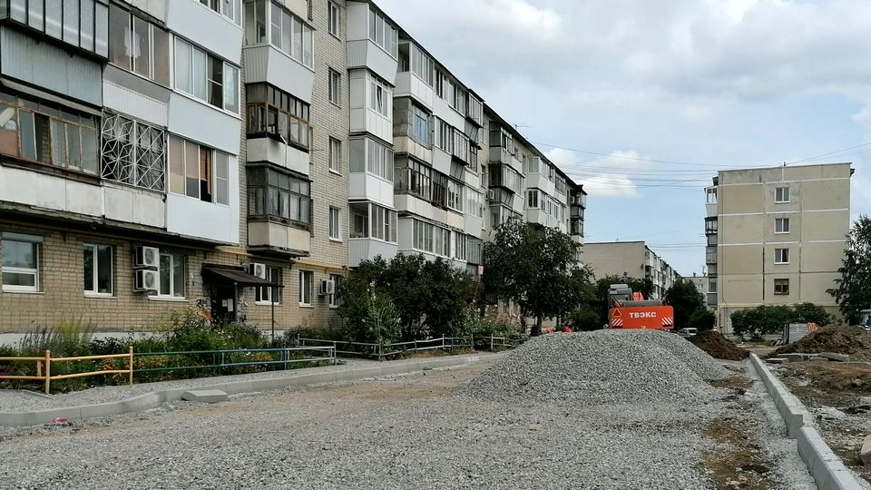 В Каменске-Уральском продолжается благоустройство дворов
