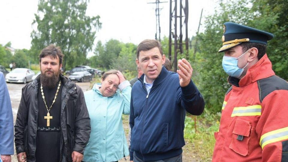 Путин направил в Нижние Серги главу МЧС Зиничева