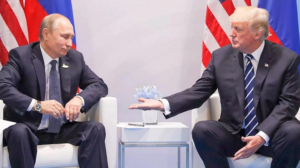 Трамп включил Путина в число сообразительных политиков