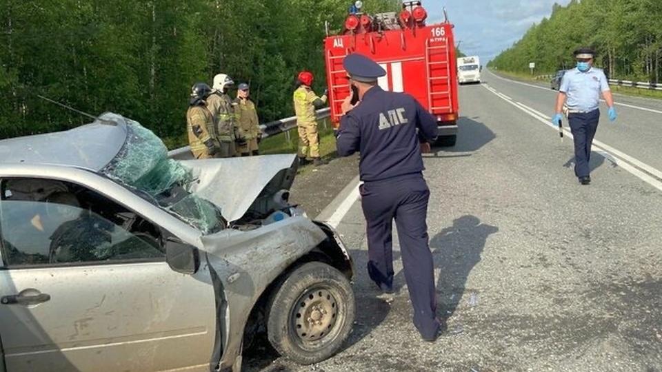 Два человека погибли в ДТП На Серовском тракте