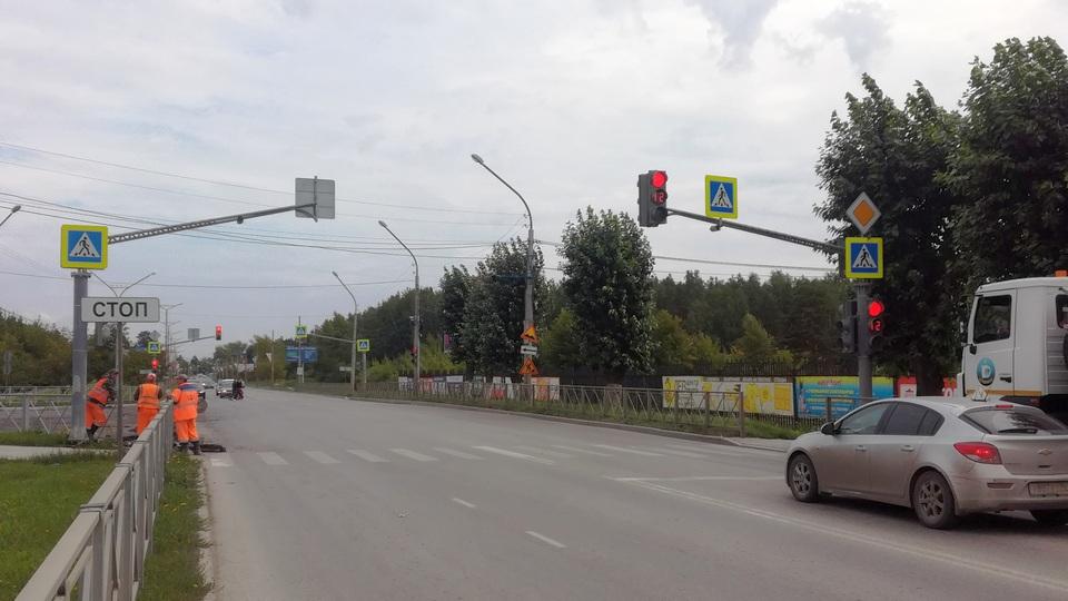 ГИБДД меняет схему работы светофора на перекрестке Кадочникова - проспект Победы