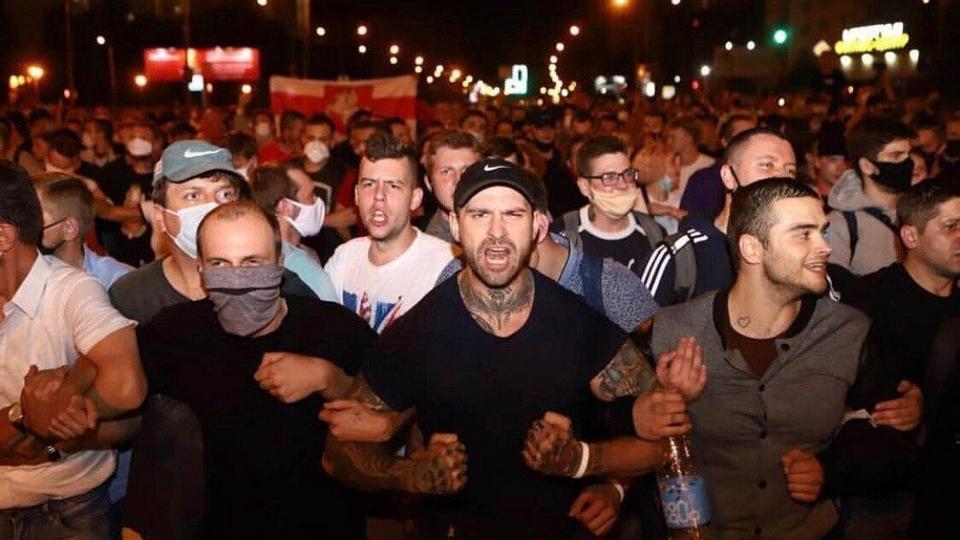 Выборы в Белоруссии: видео ночных беспорядков