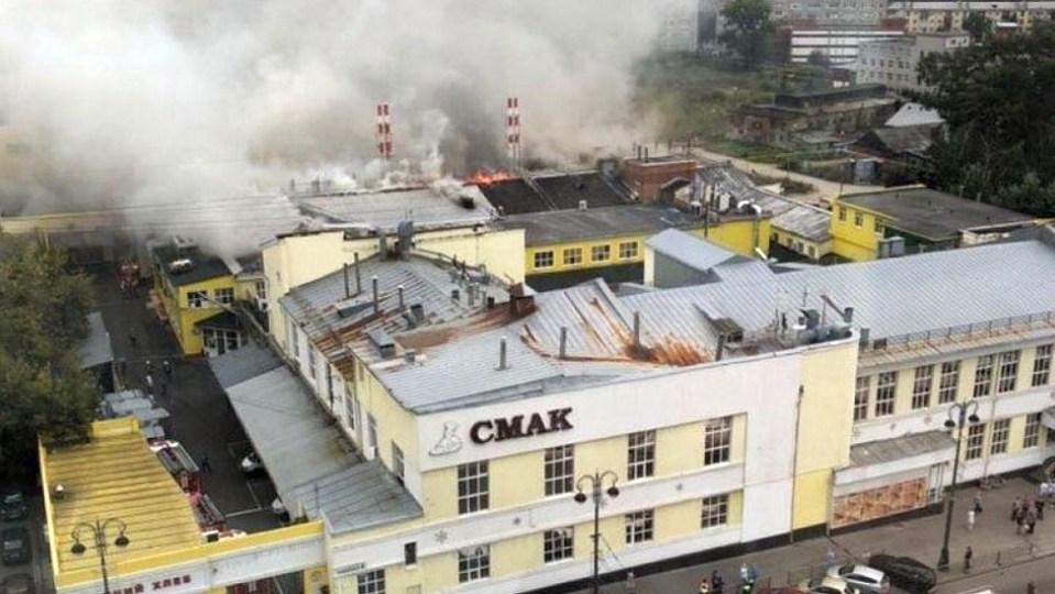 Работник цеха рассказал подробности про пожар на заводе СМАК