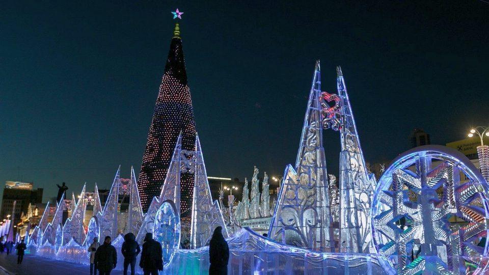 Власти Екатеринбурга проводят опрос на тему ледового городка