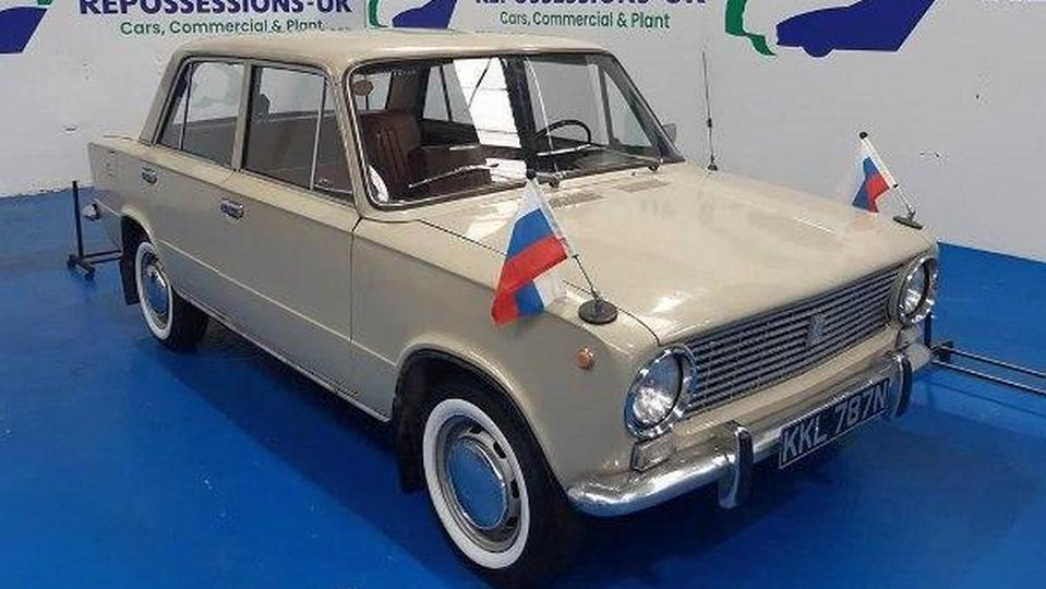 Автомобиль Lada-2101 1975 года выпуска выставили на продажу в Великобритании