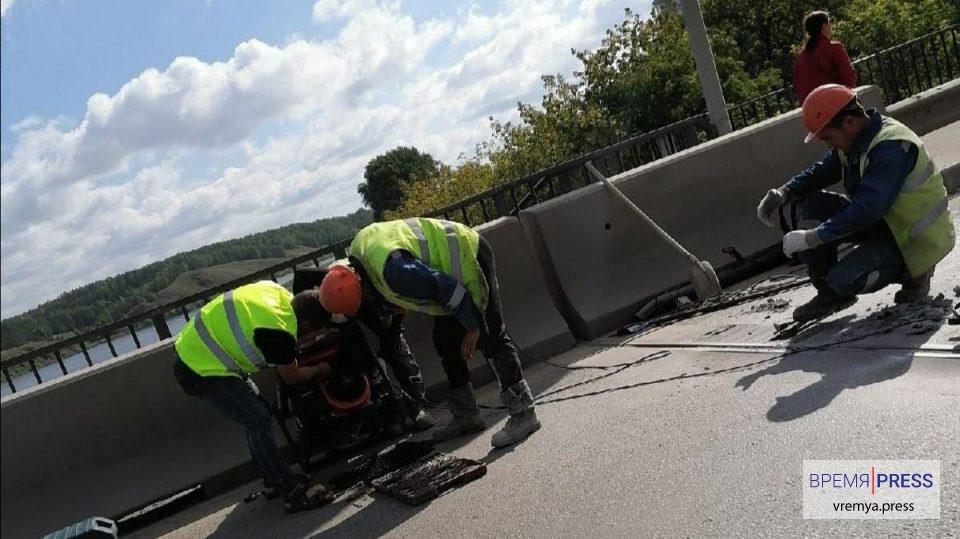 Ремонтные работы на Байновском мосту продлятся два дня