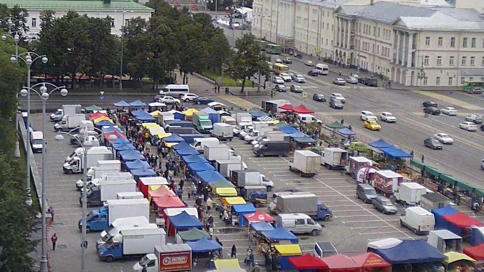 В Екатеринбурге возобновляются ярмарки выходного дня на площади 1905 года