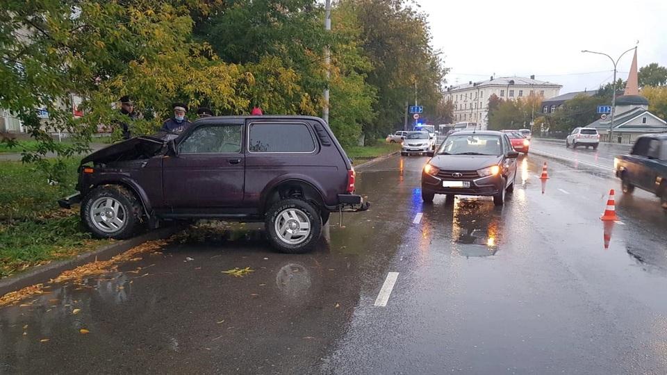 В Каменске-Уральском в ДТП пострадал мужчина