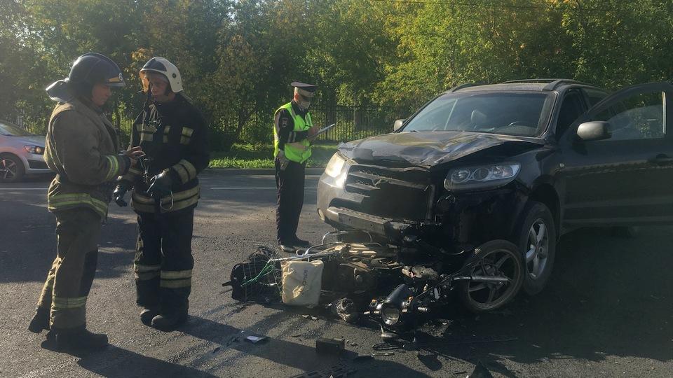 67-летний мотоциклист погиб в ДТП в Каменске-Уральском