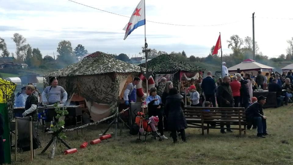 Под Богдановичем прошёл фестиваль барбекю, посвящённый 75-летию Победы