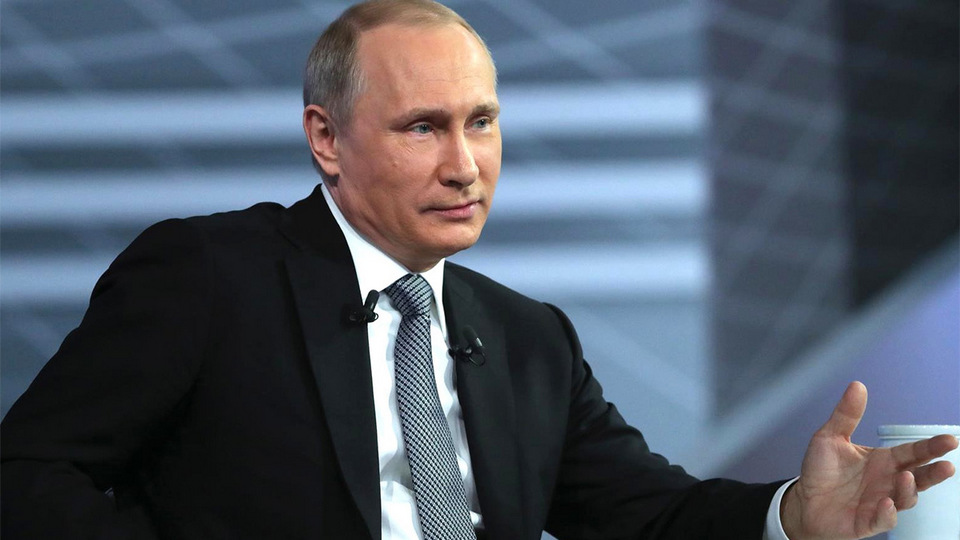 Путина выдвинули на Нобелевскую премию мира