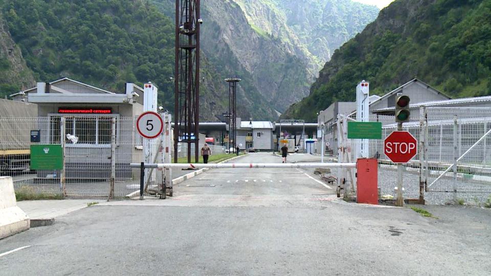 Россия открыла границы с Южной Осетией