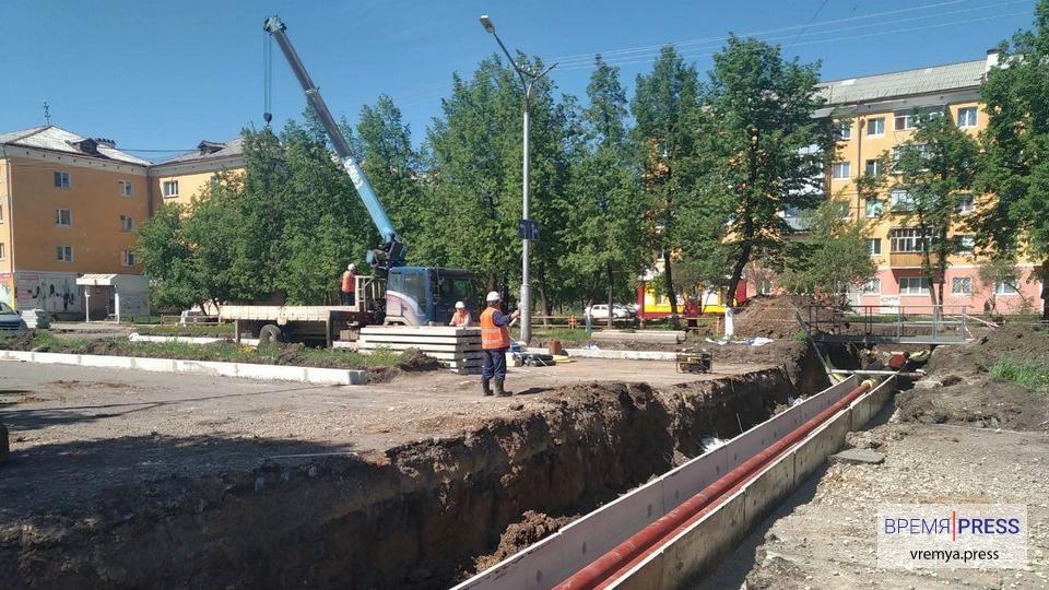 В Каменске-Уральском завершаются капитальные ремонты тепловых сетей
