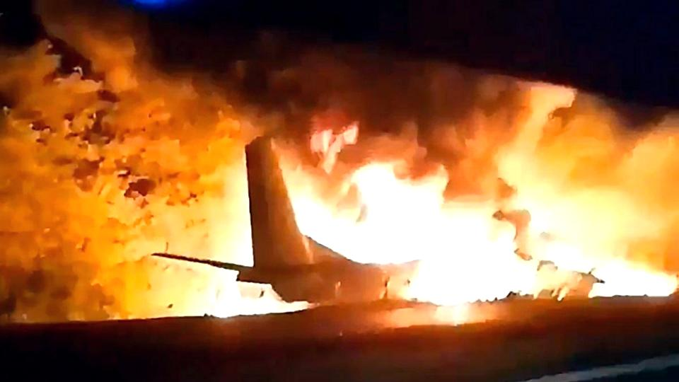 В авиакатастрофе под Харьковом погибли 25 курсантов 203-ей авиабригады