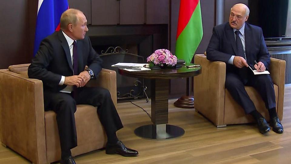 Встреча в Сочи. О чём договорились Путин и Лукашенко