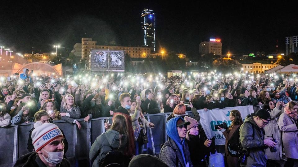 Фестиваль Ural Music Night посетили более 170 тысяч человек