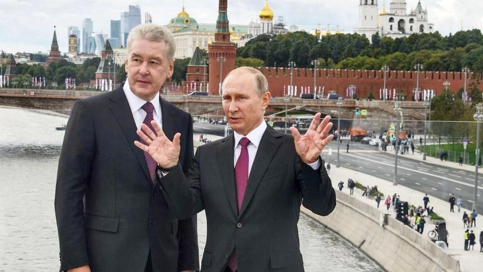 Путин расспросил Собянина о прививке от коронавируса