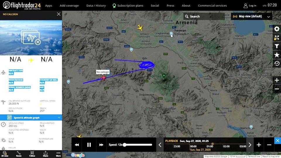 В Армении введено военное положение и объявлена общая мобилизация