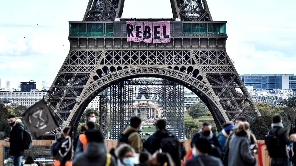 Активисты Extiction Rebellion призвали французов к восстанию