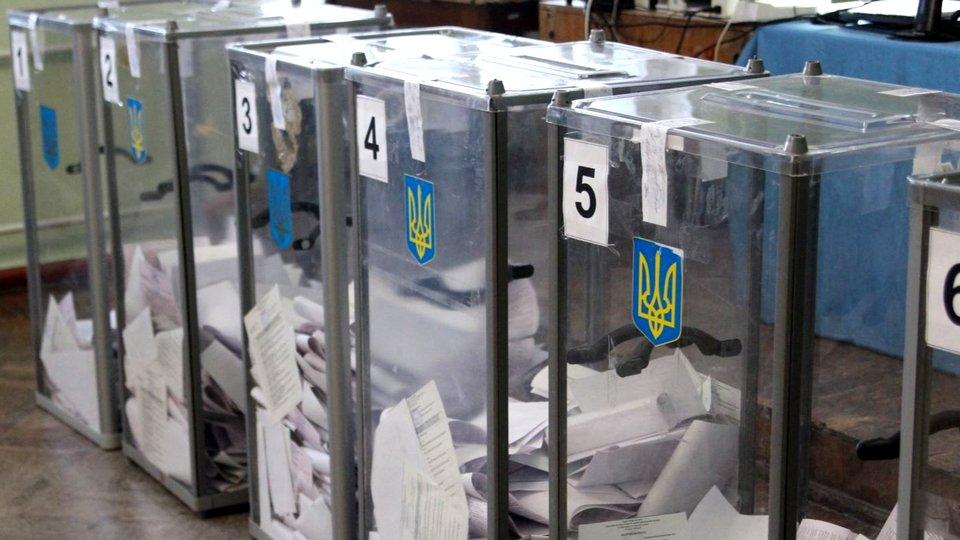 На Украине сегодня проходят выборы в местные органы власти