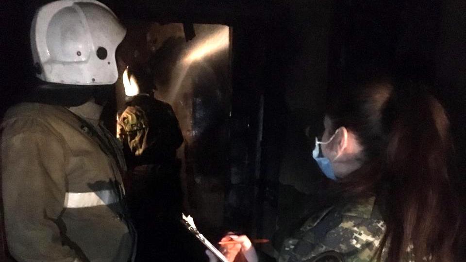 На Урале в пожаре погибли пять человек