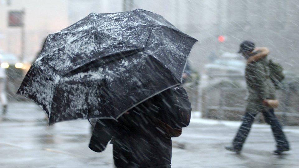 Неделя в Свердловской области начнётся мокрым снегом, гололедицей и сильным ветром