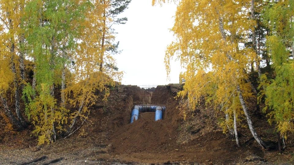 Первый этап строительства второй нитки водовода в Каменск-Уральский близится к завершению