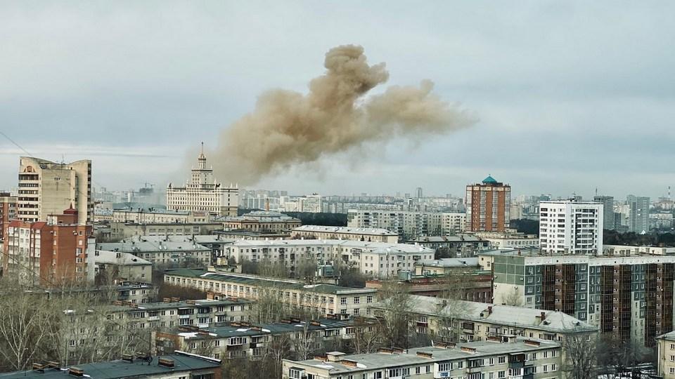 Взрыв в Челябинске: пострадавших нет