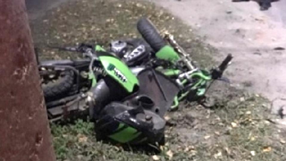 Нижегородский семиклассник погиб в ДТП, сидя за рулем мотоцикла